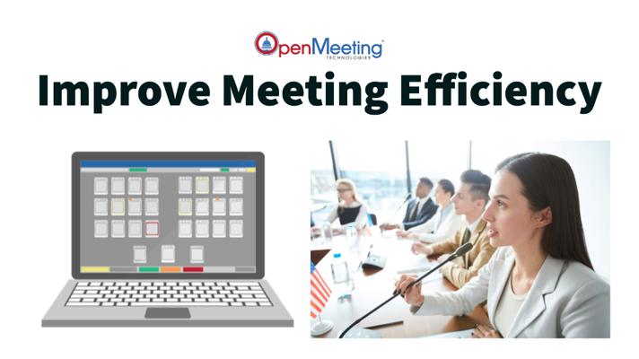 Legislative Board Meeting Software Improves Meeting Efficiency